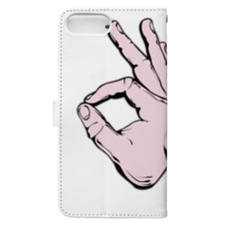 うさぎとかめ Book-style smartphone case
