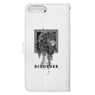 DISORDER(mono) Book-style smartphone case
