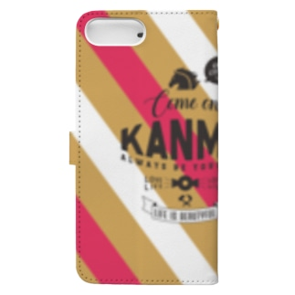 Come On! Kanma Book-style smartphone case