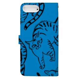 cat flow Book-style smartphone case