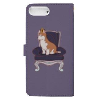 King Dog Book-style smartphone case