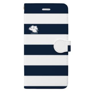 どどねこ-シマシマ- Book style smartphone case