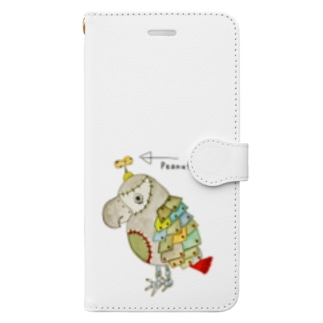 ROBOBO「福ちゃんロボ」 Book-style smartphone case