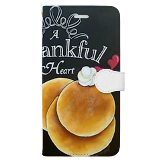 team-AのThankful Book style smartphone case