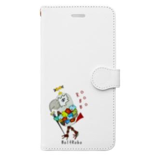 ROBOBO ヨウムのボルトロボ  Book-style smartphone case