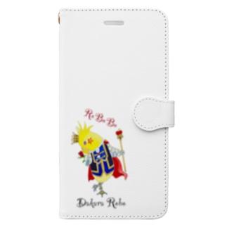 ROBOBO オカメインコ 「ダカラ王子」 Book-style smartphone case