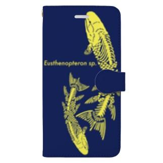 ユーステノプテロン2改 Book-style smartphone case