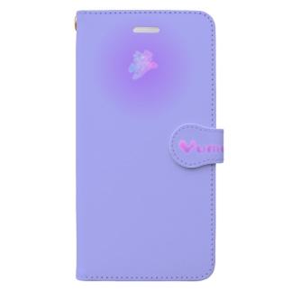 moji 夢 VI  1-2 (スマホケース・手帳型) Book-style smartphone case