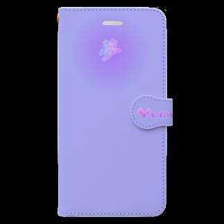 tomo-miseのmoji 夢 VI  1-2 (スマホケース・手帳型) Book-style smartphone case