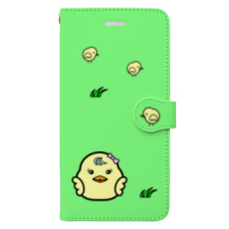 ひよこ ダルマ 1 (スマホケース) Book style smartphone case