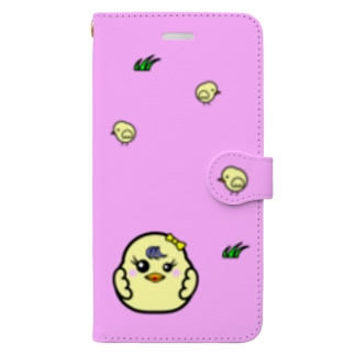 ひよこ ダルマ 3 (スマホケース・手帳型) Book style smartphone case