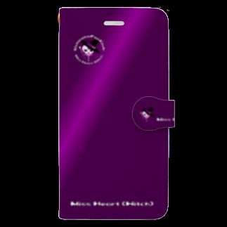 tomo-miseのMiss Heart (Witch)(スマホケース・手帳型) Book-style smartphone case