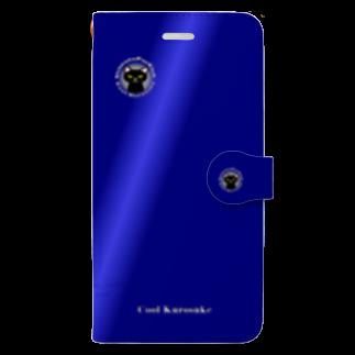 tomo-miseのCool-Kurosuke(スマホケース・手帳型) Book-style smartphone case