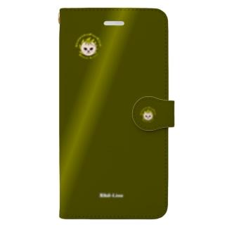 Nihil-Lion(スマホケース・手帳型) Book-style smartphone case