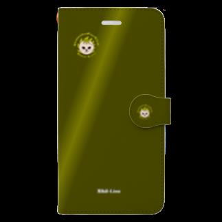 tomo-miseのNihil-Lion(スマホケース・手帳型) Book style smartphone case