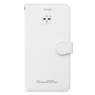 Bimyo !?(スマホケース・手帳型) Book-style smartphone case