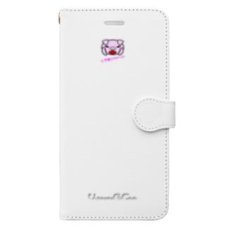 いやあアアア~ ! !(スマホケース・手帳型) 手帳型スマートフォンケース