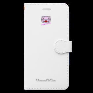 tomo-miseのいやあアアア~ ! !(スマホケース・手帳型) Book-style smartphone case