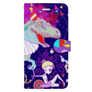circusざうるす Book style smartphone case