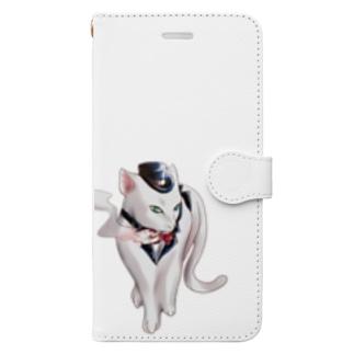 シガレットCat2 Book-style smartphone case