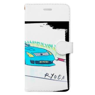 Ryotaのオリジナルレーシングカー36 Book-style smartphone case