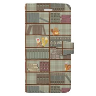 森の図書館 Book-style smartphone case