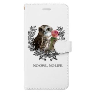 NO OWL, NO LIFE. Book-style smartphone case