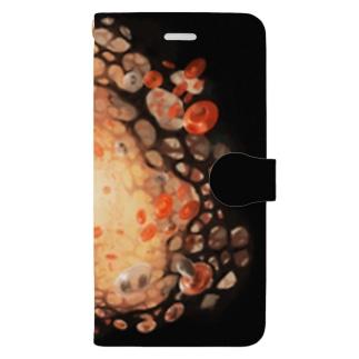 骨髄 Book style smartphone case