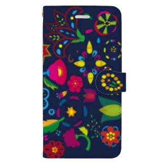 パラダイス深夜なiPhoneケース Book-style smartphone case