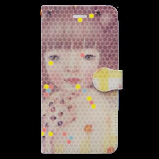 cocoartの雑貨屋さんのゆめのなかのやくそく iPhone 6-6sPlus/7-8/X,XS/XS Max/XRPlus用 Book-style smartphone case