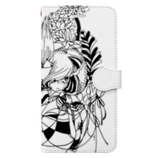 hazuki / hitotose Book-style smartphone case