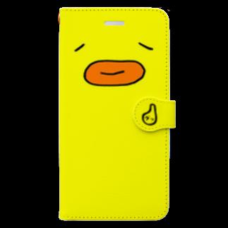 みんなひよこどんのひよこどんスマホケース(手帳たいぷ) Book-style smartphone case