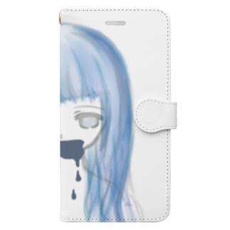 tsugumi01_iphone case Book-style smartphone case