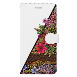 ネイチャーシリーズ 花言葉 ~Nature series Flower~ Book-style smartphone case