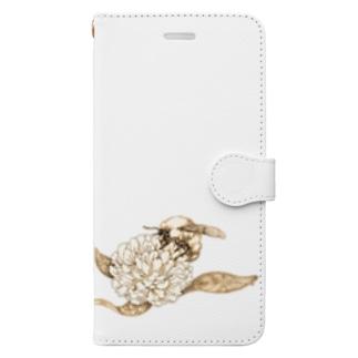 蜜蜂 Book-style smartphone case