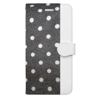 ドットスマホケース(手帳型) Book-style smartphone case