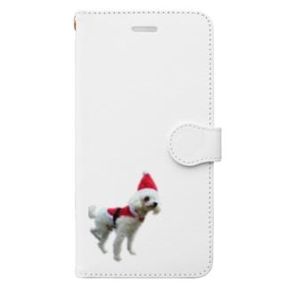 僕サンタだよぉ〜(*^^*) Book-style smartphone case