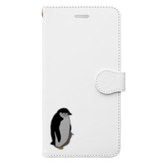ぼっちのアゴヒゲペンギン Book-style smartphone case