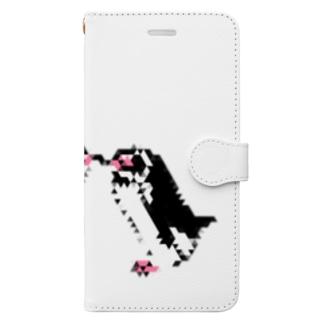 三角フンボルトペンギン(なかよし) Book-style smartphone case