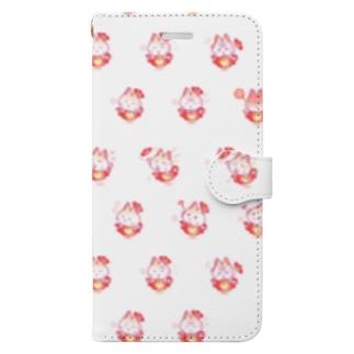ティーポット・キャット Book-style smartphone case