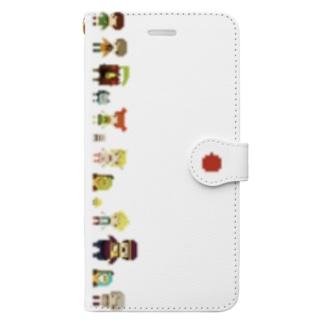 ちいさな だいぼうけん 白(6+/6s+/7+/8+)  Book-style smartphone case