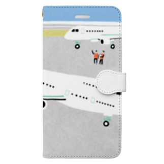 Airport Book-style smartphone case