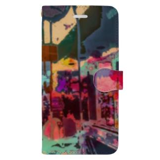 渋谷③ Book-style smartphone case