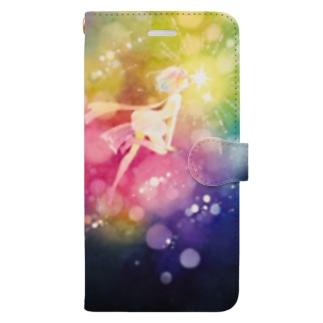 うつろいのキス Book-style smartphone case