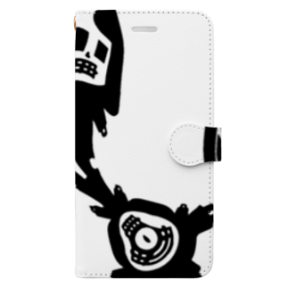 qethapethapのザビイ Book-style smartphone case
