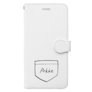 ぽっけ Book-style smartphone case