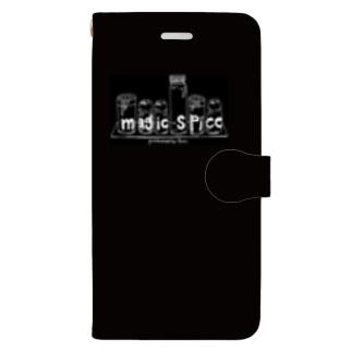magic spice 手帳型スマホケース Black Book-style smartphone case
