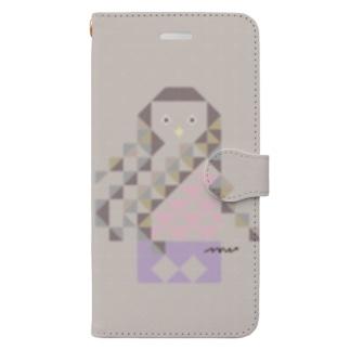 アマビエさん iPhone8Plus/7Plus Book-style smartphone case