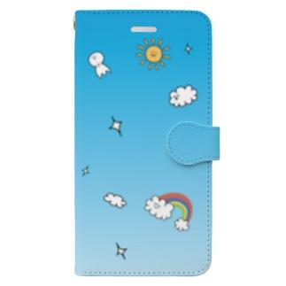 そらのいろ Book-style smartphone case