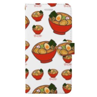 ラーメン Book-style smartphone case